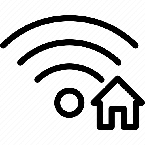 connection, home, house, network, wifi, wireless icon