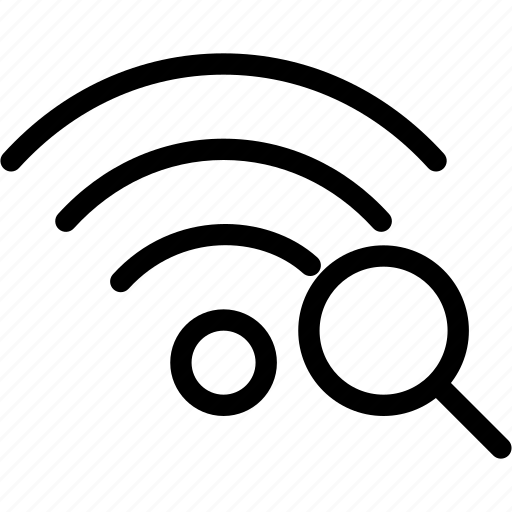 find, network, search, wifi, wireless icon