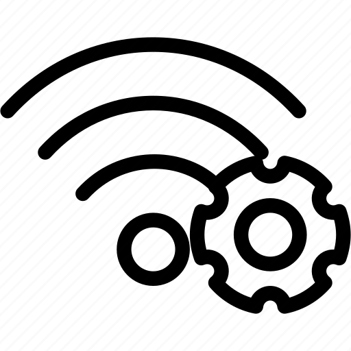 configuration, settings, tools, wifi, wireless icon