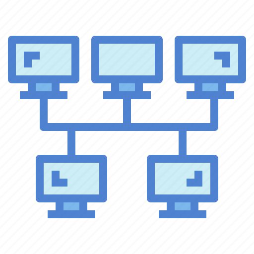 Bus, connection, link, network, networking icon - Download on Iconfinder