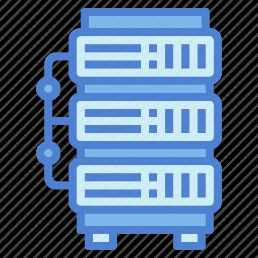 database, hosting, network, server icon