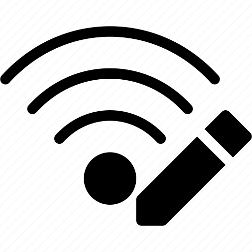 communication, connection, edit, wifi, wireless icon