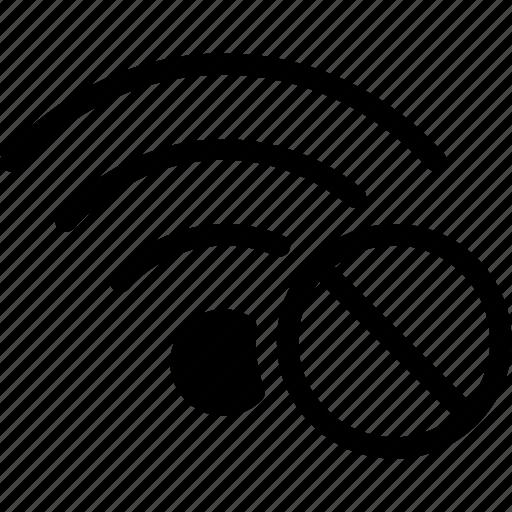Connection, no, signal, wifi, wireless icon | Icon search ...