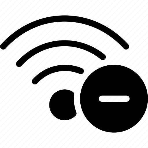 communication, connection, remouve, wifi, wireless icon