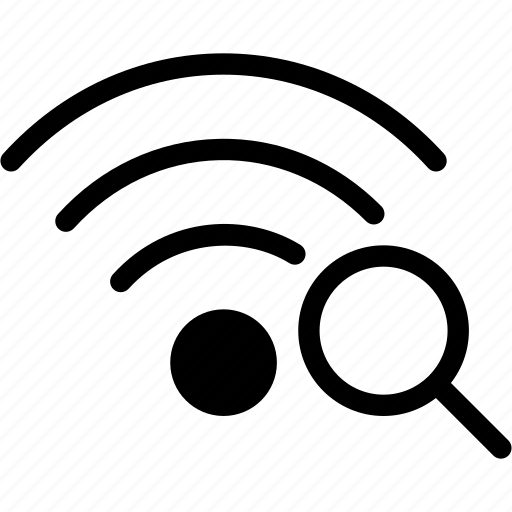 connection, find, search, wifi, wireless icon