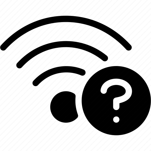 communication, connection, help, question, wifi icon