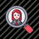 account, hiring, job, profile, search