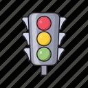 light, road, sign, signal, traffic