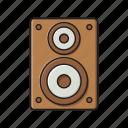 audio, loud, sound, speaker, woofer