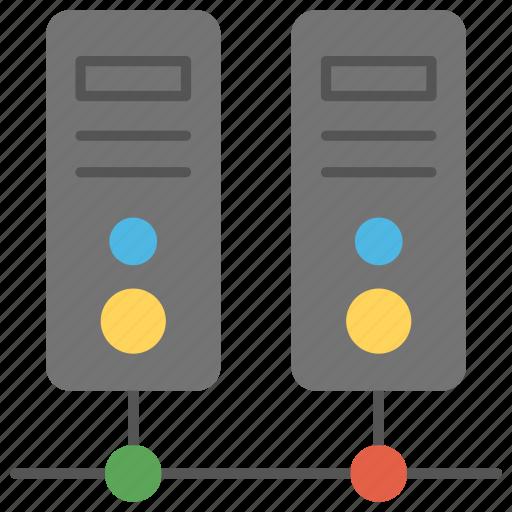 database server, shared server, shared web hosting, web hosting service, web server icon