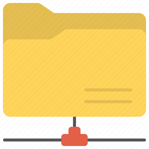 network folder, remote folder, shared directory, shared files, shared folder icon