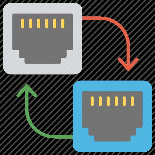 ethernet, local area network, metropolitan area network, networking, wide area network icon