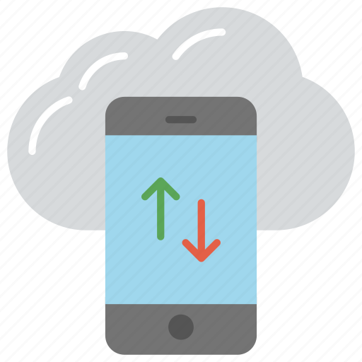 android backup to the cloud, android cloud storage, cloud storage app, mobile cloud application, mobile cloud service icon