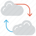cloud backup, cloud backup service, cloud data center, online backup service, online storage icon