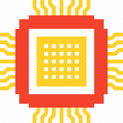 chip, computer, cpu, electronics, hardware, microchip, processor icon
