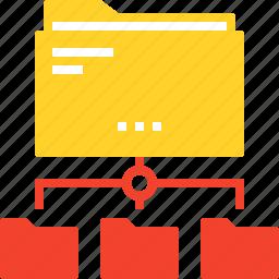 data, document, file, folder, internet, network, online icon
