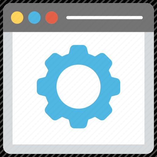 software development, web development, web maintenance, website configuration, website programming icon