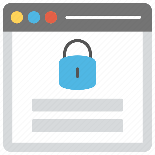 information security, web application security, website lock screen, website security, website security software icon