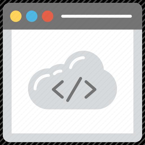 cloud computing programming, cloud programming, cloud programming language, cloud programming tutorial, programming for cloud computing icon