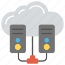 cloud computing server, cloud network server, cloud server hosting, cloud storage, web hosting icon
