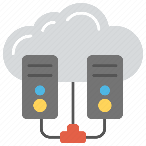 cloud computing server, cloud network server, cloud server hosting, cloud storage, web hosting icon