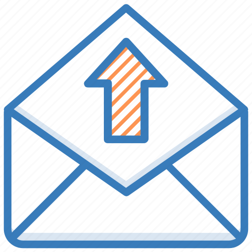 email outbox, email sent, mailbox, outbox, sentbox icon