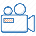 film camera, film recorder, movie camera, video camera, video recording icon