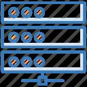 database, network server, server connection, server storage, web hosting