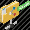 network folder, shared directory, shared document, shared drive, shared folder icon