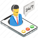 call center, customer service, csr, helpline, operator, customer support icon