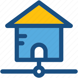 home area network, home network, networking, remote network, web home icon
