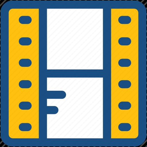 camera reel, film strip, image reel, movie reel, reel box icon