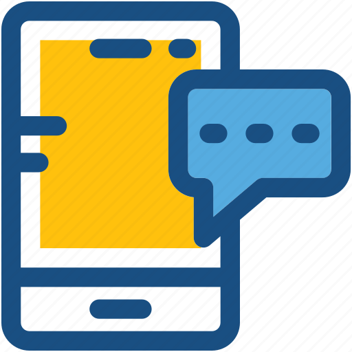 Chatting, message, mobile, mobile massage, sms icon - Download on Iconfinder