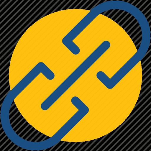 Chain link, hyperlink, link, linkage, web link icon - Download on Iconfinder