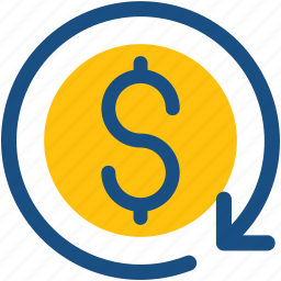 currency, dollar conversion, dollar exchange, foreign exchange, money exchange icon