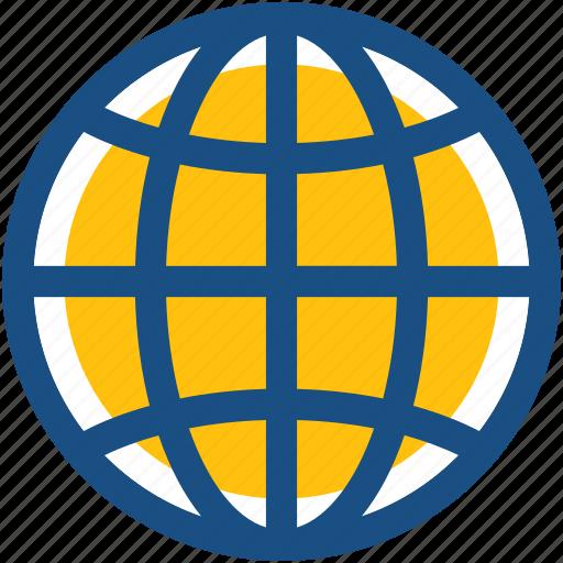 Earth grid, globe, international, planet, worldwide icon - Download on Iconfinder