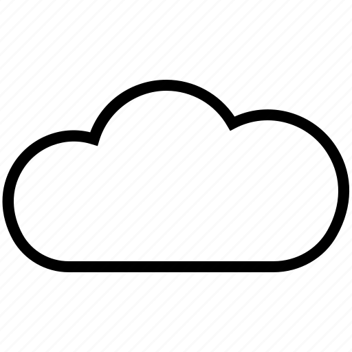 cloud, hosting, server, store icon