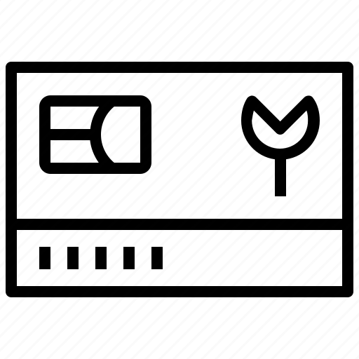 card, document, id, identification icon
