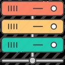 data storage, database, datacenter, dataracks, dataserver network, sql icon