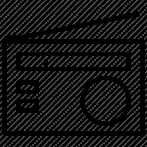 emission, fm, radio, transmission icon