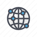 cloud, computer, connectivity, internet, network, sync, technology icon