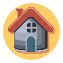 apartment, home, house, interior, real icon