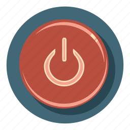 electricity, energy, off, on, power icon
