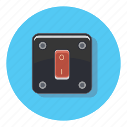 light, off, on, power, switch icon