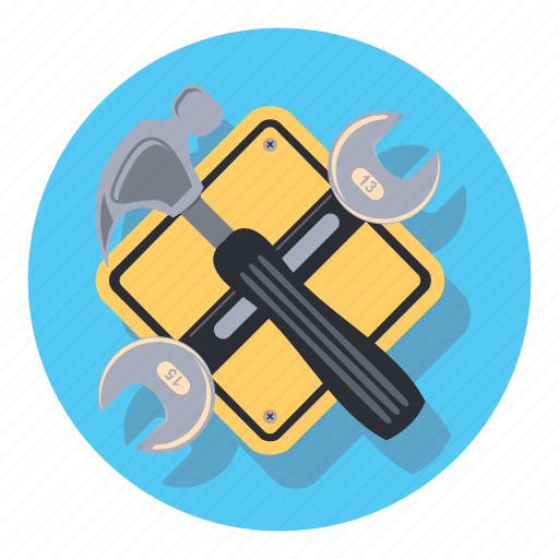 construction, house, office, tool icon