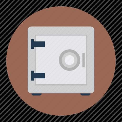 box, financial, money, safe icon