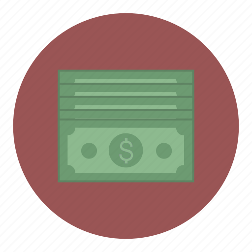 bank, bills, business, money icon