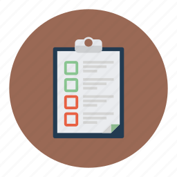 checklist, clipboard, document, documents icon