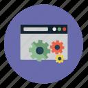 cog, setting, system, tab icon