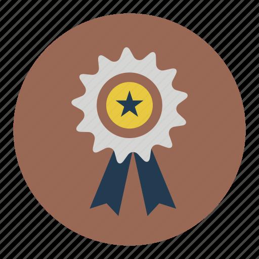 award, medal, prize, win icon